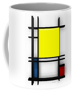 tribute to Mondrian 1 Coffee Mug