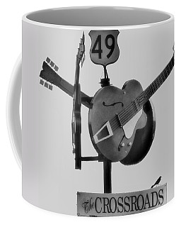 Tribute To The Blues At The Crossroads Coffee Mug