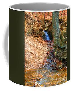 Trickling Waterfall By Shellhammer Coffee Mug