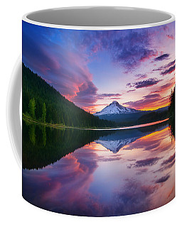 Trillium Lake Sunrise Coffee Mug