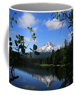 Trillium Lake With Mt. Hood  Coffee Mug