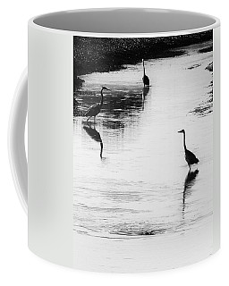Trilogy - Black And White Coffee Mug