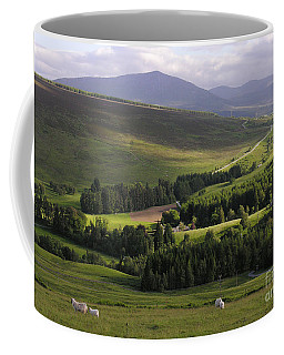 Summer In The Hills Of Perthshire  Coffee Mug