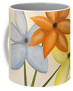 Trio Of Flowers Coffee Mug by Tim Townsend