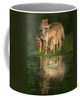 Trio Of Wolves Coffee Mug