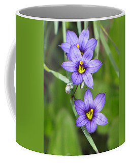 Triple Purple Coffee Mug