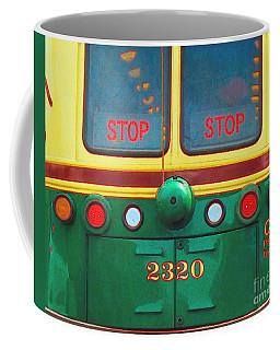 Trolley Car - Digital Art Coffee Mug