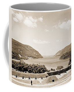 Trophy Point North Fro West Point In Sepia Tone Coffee Mug