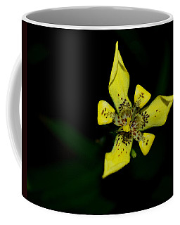 Coffee Mug featuring the photograph Tropic Yellow by Miguel Winterpacht