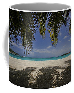 Tropical Beach Scene Coffee Mug