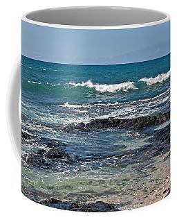 Coffee Mug featuring the photograph Tropical Beach Seascape Art Prints by Valerie Garner