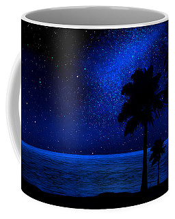 Tropical Beach Wall Mural Coffee Mug