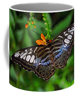 Coffee Mug featuring the photograph Tropical Butterfly by Marie Hicks