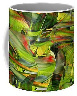 Tropical Forest And Birds Coffee Mug