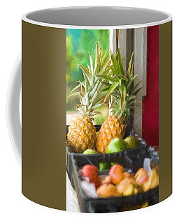 Tropical Fruitstand Coffee Mug