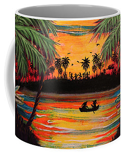 Tropical Halloween In Party Cove 2 Coffee Mug