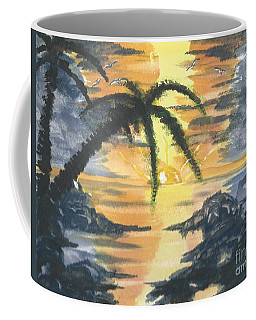 Tropical Sun Coffee Mug