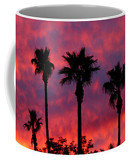 Tropical Sunset Coffee Mug by Laurel Powell