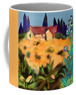Tropical View Coffee Mug