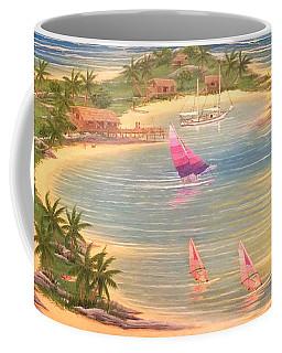 Tropical Windy Island Paradise Coffee Mug
