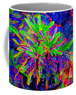 Coffee Mug featuring the photograph Tropicals Gone Wild by David Lawson