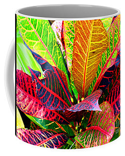 Tropicals Gone Wild Naturally Coffee Mug by David Lawson