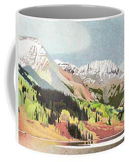 Trout Lake Colorado Coffee Mug by Dan Miller