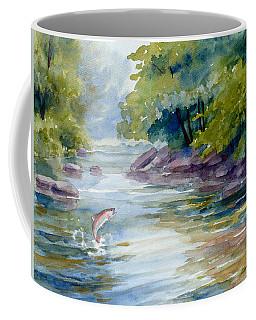 Trout Stream Coffee Mug