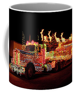 Truck 18 Wheeler Tractor Trailer Coffee Mug