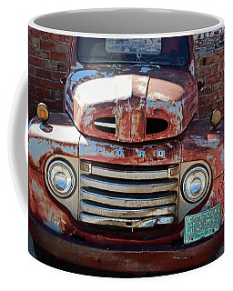Coffee Mug featuring the photograph Ford In Goodland by Lynn Sprowl