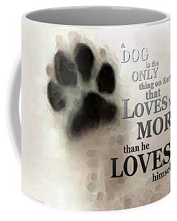 True Love - By Sharon Cummings Words By Billings Coffee Mug
