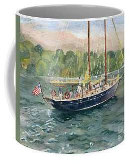 True Love Schooner Coffee Mug