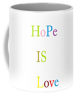 Coffee Mug featuring the painting True Meaning by Aaron Martens