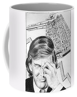 Trump In Trouble Coffee Mug