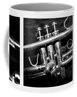 Trumpet Triptych Coffee Mug by Photographic Arts And Design Studio
