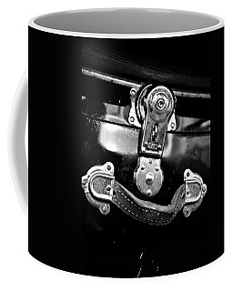 Coffee Mug featuring the photograph Trunk Latch by Adria Trail