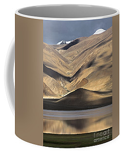 Golden Light Tso Moriri, Karzok, 2006 Coffee Mug by Hitendra SINKAR