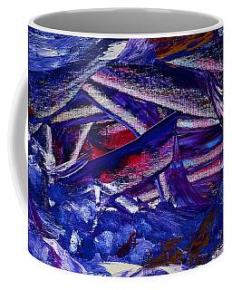 Tsunami Coffee Mug by Dick Bourgault