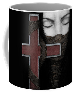Coffee Mug featuring the painting Tu Non by Pat Erickson