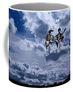 Tucker Boys In The Clouds 2 Coffee Mug