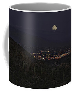 Tucson At Dusk Coffee Mug