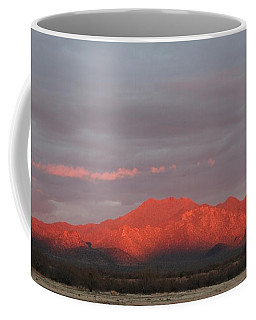 Coffee Mug featuring the photograph Tucson Mountains by David S Reynolds