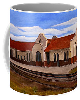 Tucumcari Train Depot Coffee Mug