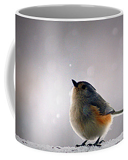 Tufted Titmouse Coffee Mug by Cricket Hackmann