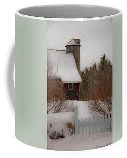 Tuftonboro Farm In Snow Coffee Mug