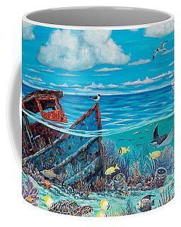 Tug Boat Reef Coffee Mug