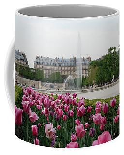 Tuileries Garden In Bloom Coffee Mug