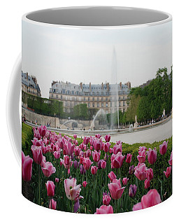Tuileries Garden In Bloom Coffee Mug