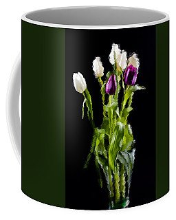 Coffee Mug featuring the photograph Tulip Impressions II by Penny Lisowski