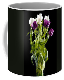 Coffee Mug featuring the photograph Tulip Impressions IIi by Penny Lisowski
